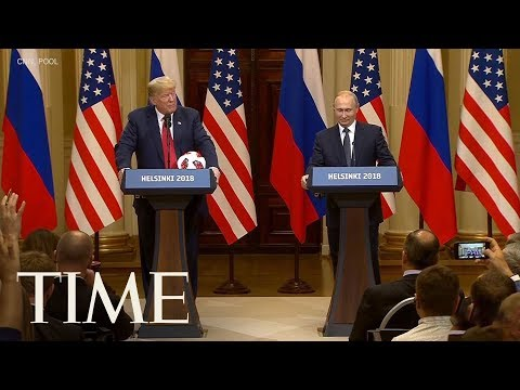 Putin Gives Trump A Soccer Ball After Russia Hosted The World Cup   TIME
