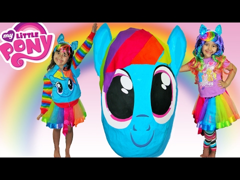 My Little Pony Biggest Surprise Egg Opening MLP Toys Giant Egg Surprise