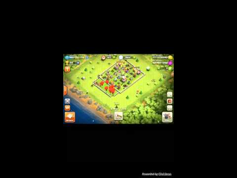 Clash of clans Christmas tree cut down