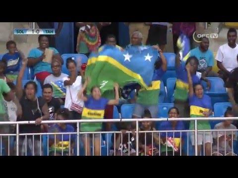 2016 OFC FUTSAL CHAMPIONSHIP | SOLOMON ISLANDS vs TAHITI
