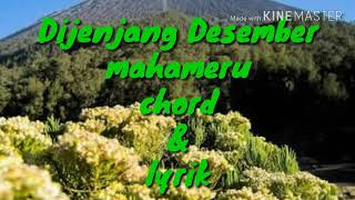 Video Di Jenjang Desember _ mahameru _ chord&lyrik download MP3, MP4, WEBM, AVI, FLV April 2018