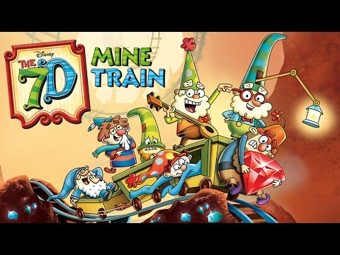 Disney The 7D Mine Train (Disney) - Best App For Kids