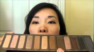 Urban Decay Naked Eyeshadow Palette Review Thumbnail