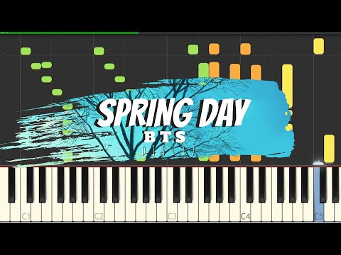 BTS - Spring Day Piano Cover [Sheets]