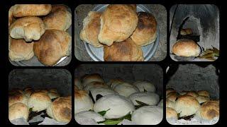 Köy Ekmeği yapılışı