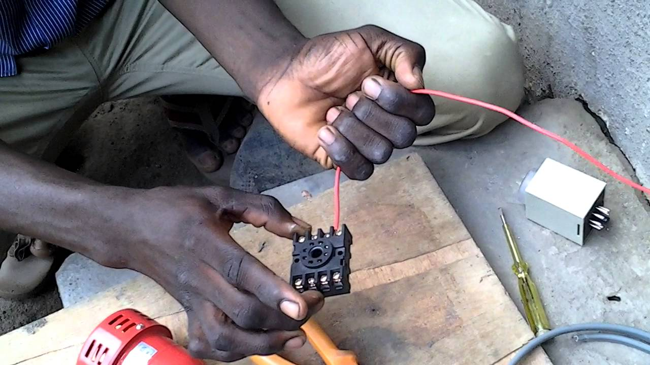How To Connect Anly Timer With Siren Youtube Wye Delta Wiring Diagram Manual Nurenek Electrical Company