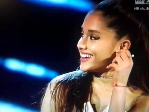 Ariana Grande speaks italian/parla italiano tvoi