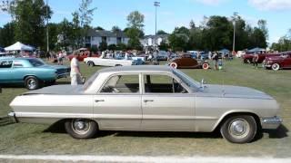 '63 CHEVY BISCAYNE 4 DOOR SEDAN - TOTALLY ORIGINAL