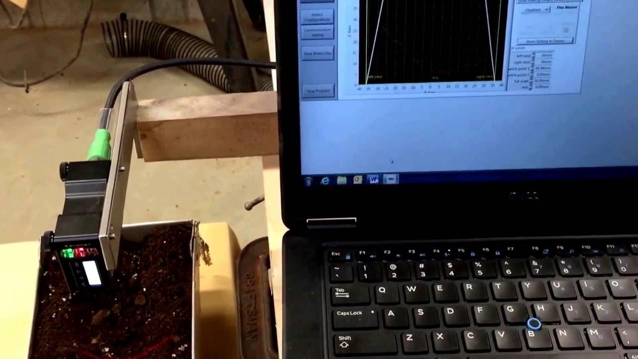 Baumer Ground Truth Sensor Test