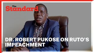 Endebes MP terms impeachment of DP Ruto as a daydream and says jubilee party is on its death bed