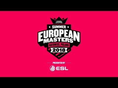 EU Masters Summer Season 2018 - Quarterfinals Day 2