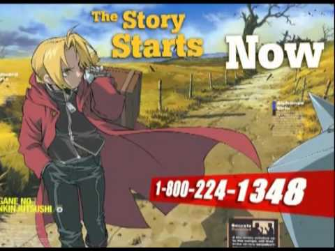Newtype USA commercial for ADV films
