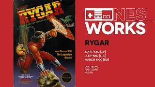 Rygar retrospective: The sunset of a new dawn for NES   NES Works #044