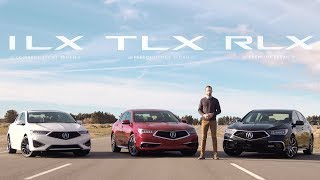 Acura ILX vs. TLX vs. RLX Sedan Comparisons - Which is Right for You?