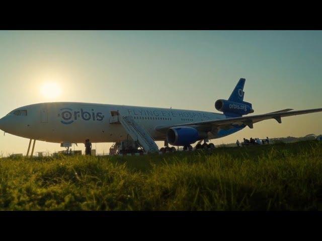 Qatar Airways and Orbis Flying Eye Hospital