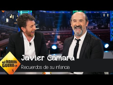 Javier Cámara relata con melancolía uno de los días más felices de su incia  El Hormiguero 3.0