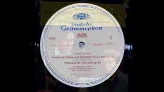 Chopin / Ivo Pogorelich, 1983: Polonaise in F sharp minor, Op. 44 - Original DG LP