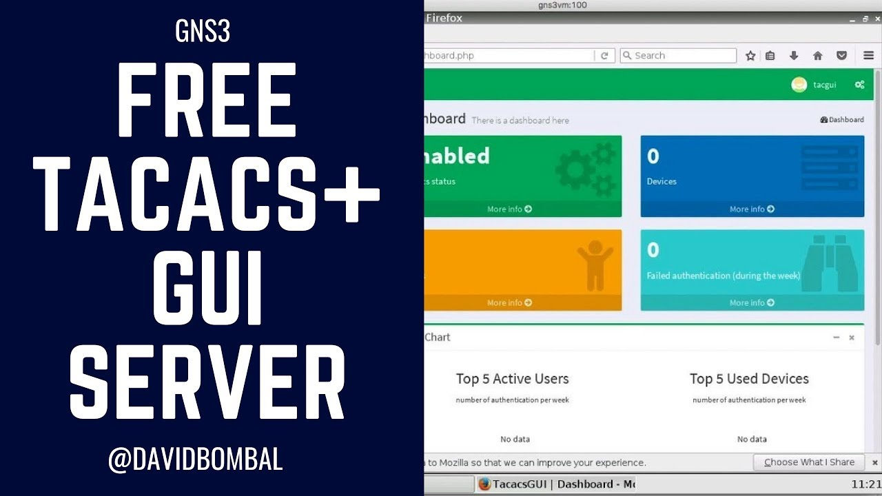 Free TACACS GUI Server: Easy way to add AAA servers to your GNS3 labs!  (Part 2)