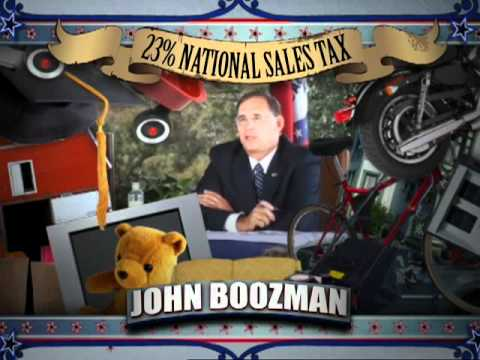 John Boozman: Excited About National Sales Tax