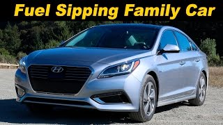2016 Hyundai Sonata Hybrid & Plug-In Review - DETAILED in 4K