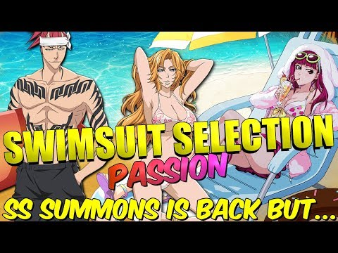 Bleach Brave Souls SWIMSUIT SELECTION IS BACK with PASSION!