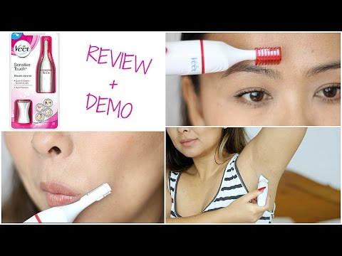 Veet Sensitive Touch Electric Trimmer | Demo & Review