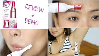 Veet Sensitive Touch Electric Trimmer | Demo & Review thumbnail