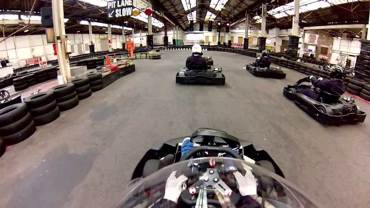 Warrington go karting