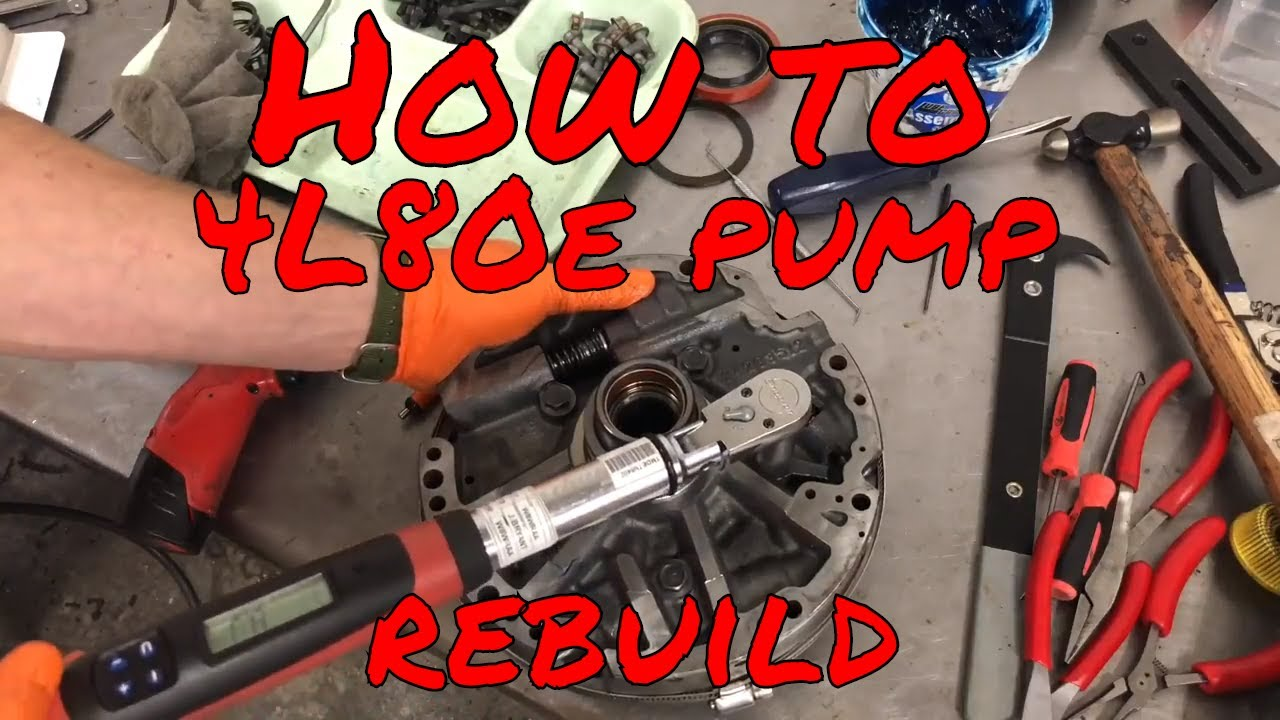 How to: 4L80e pump reassembly