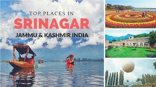 Top Places in Srinagar,jammu kashmir | srinagar points of interest | jammu kashmir tourist places