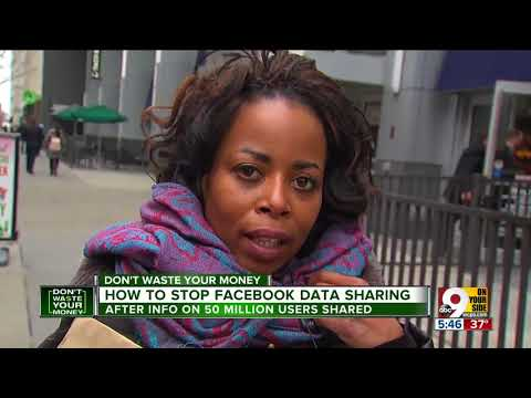 How to stop Facebook data sharing