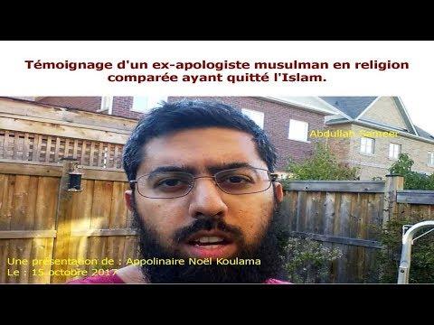 Témoignage d'un ex-apologiste musulman en religion comparée ayant quitté l'Islam.