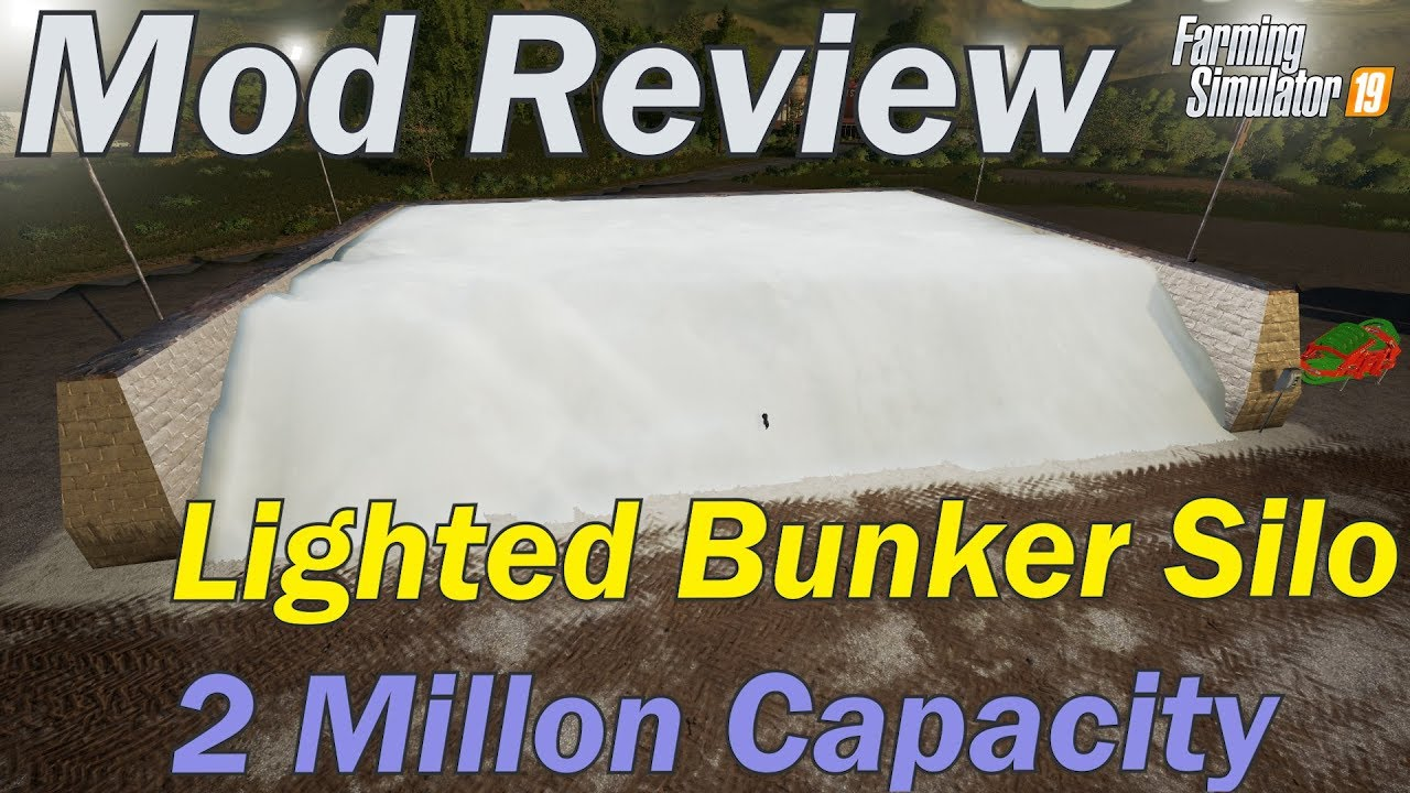 Mod Review - Lighted Bunker Silo V1 1