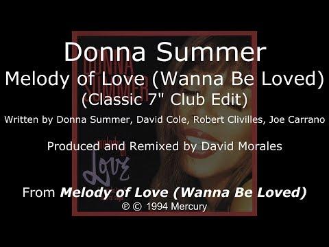 Donna Summer - Melody of Love (Classic Club Edit) LYRICS - SHM