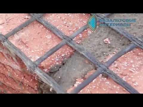 Видео Сетка кладочная 300