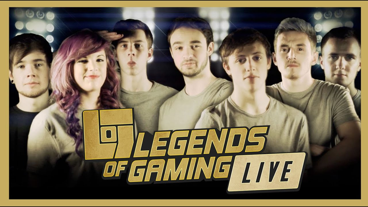 Top 10 Gaming Youtubers 2020.Legends Of Gaming Live Preview Some Of The Uk S Top Gaming