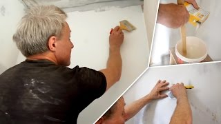 видео Как покрасить бетонную стену: основные этапы работы