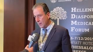 Νικόλαος Νίτσας / Πρόεδρος Ιατρικού Συλλόγου Θεσσαλονίκης (ΙΣΘ) Hellenic Diaspora Medical Forum