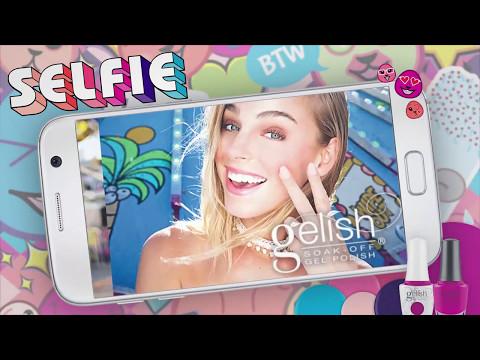 Gelish & Morgan Taylor Summer 2017 SELFIE (Behind the Scenes)