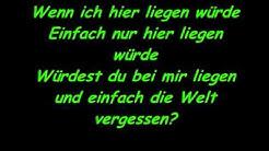 Snow Patrol- Chasing Cars (Deutsche übersetzung)