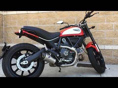 2016 Ducati Scrambler Test Ride And Review!