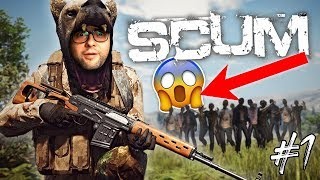 SCUM! NEW HYPER-REALISTIC Survival Game - First Gameplay and Impressions! (Part 1)