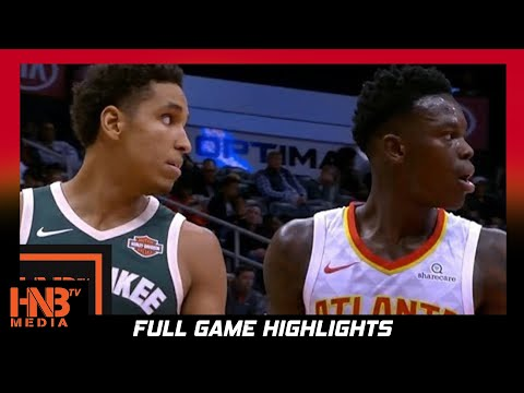Milwaukee Bucks vs Atlanta Hawks Full Game Highlights / Week 2 / 2017 NBA Season