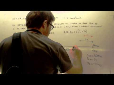 Problemas resueltos de cinematica Encuentro Fisica 4º ESO Academia ...