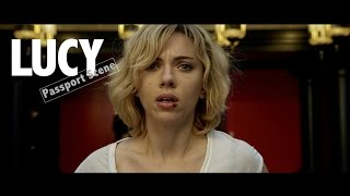 Lucy (2014) - When they recieve there passports