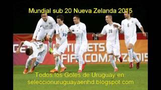 Gol de Uruguay contra Mèxico - Mundial sub 20 Nueva Zelanda 2015 (1-2)
