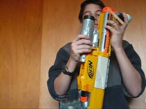 Nerf Grenade Launcher 2.5 (M2.5) - YouTube