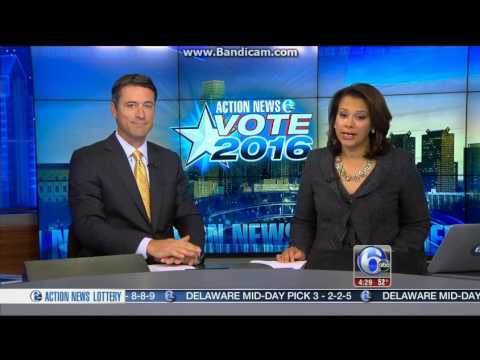 WPVI 6 ABC Action News this Morning at 4:30am breaking news cold open  November 9, 2016