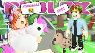 CHILD LOVES ME AND WANTS TO ROB MY LEGENDARY PET IN ADOPT ME 🦄😭 ROBLOX IN ENGLISH 💖