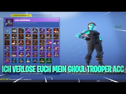 ? ICH VERLOSE EUCH MEIN GHOUL TROOPER ACC !!!⚡Facecam |  ? Fortnite Battle Royale (PC) thumbnail